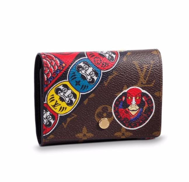Louis Vuitton Monogram Canvas Victorine Wallet M67253
