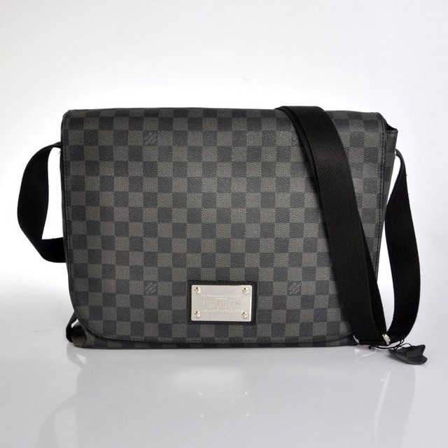 Louis Vuitton Damier Graphite Canvas Brooklyn GM N51212