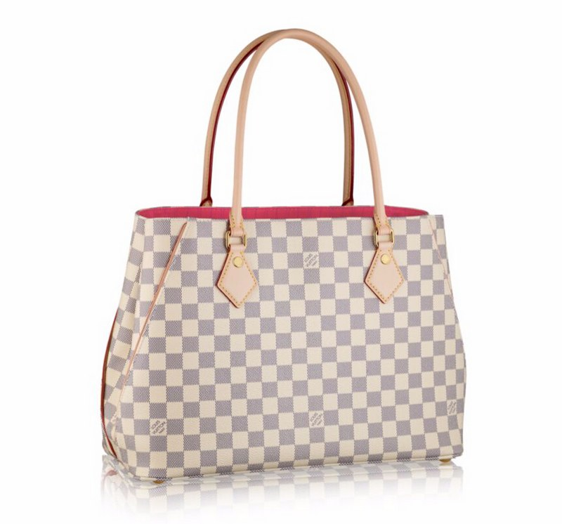 Louis Vuitton Damier Azur Canvas Calvi N41449