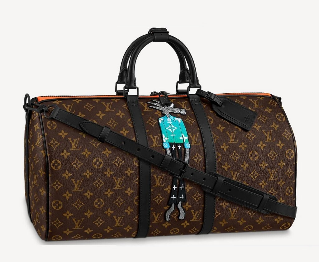 Louis Vuitton Keepall Bandouliere 50 M45616