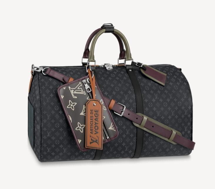 Louis Vuitton Keepall Bandouliere 50 M56856