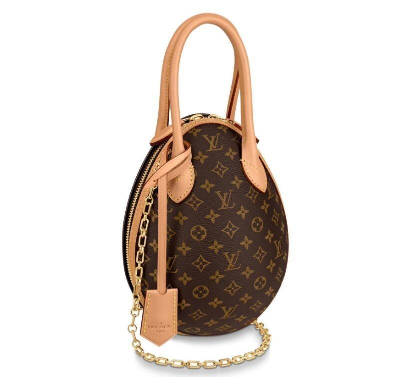 Louis Vuitton Monogram Canvas LV Egg Bag M44587