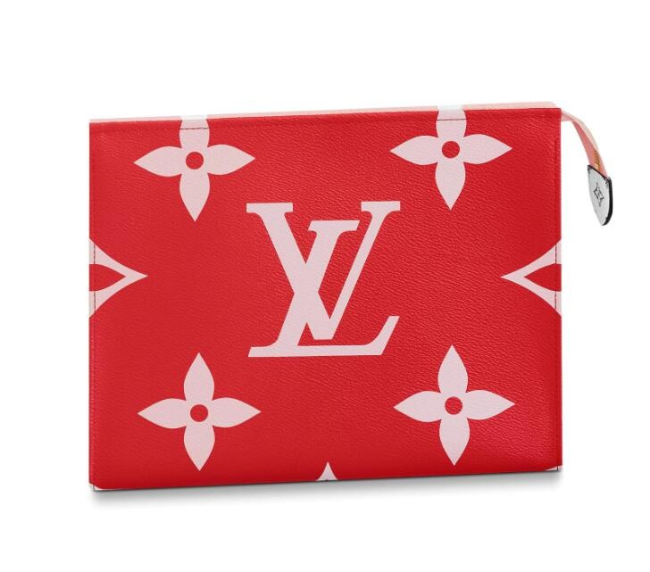 Louis Vuitton Toilet Pouch XL M67692 Red