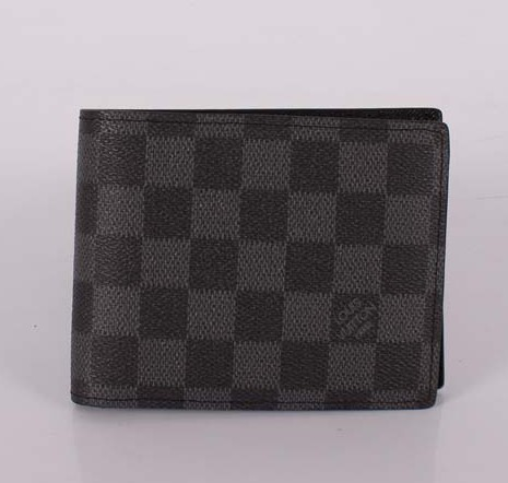 Louis Vuitton Damier Graphite Canvas Portefeuille Marco N60018