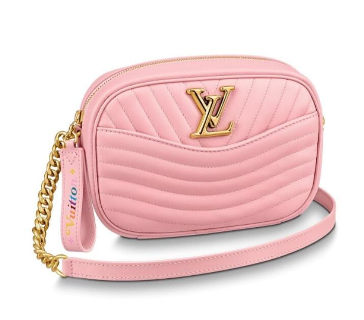 Louis Vuitton New Wave Camera Bag M53683 Smoothie Pink