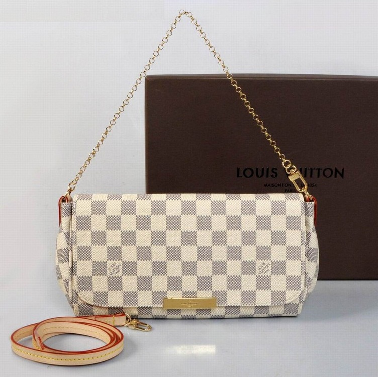 Louis Vuitton Damier Azur Canvas Favorite MM N41275
