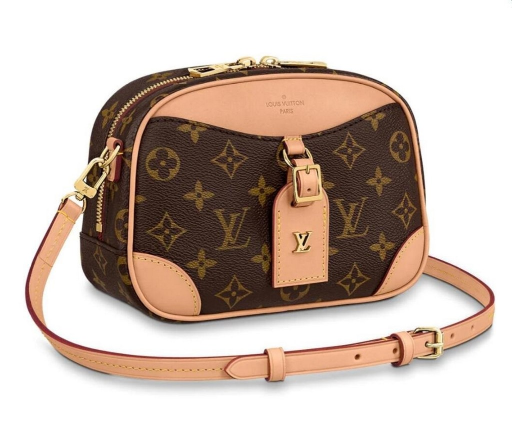 Louis Vuitton Monogram Canvas Deauville Mini M45528