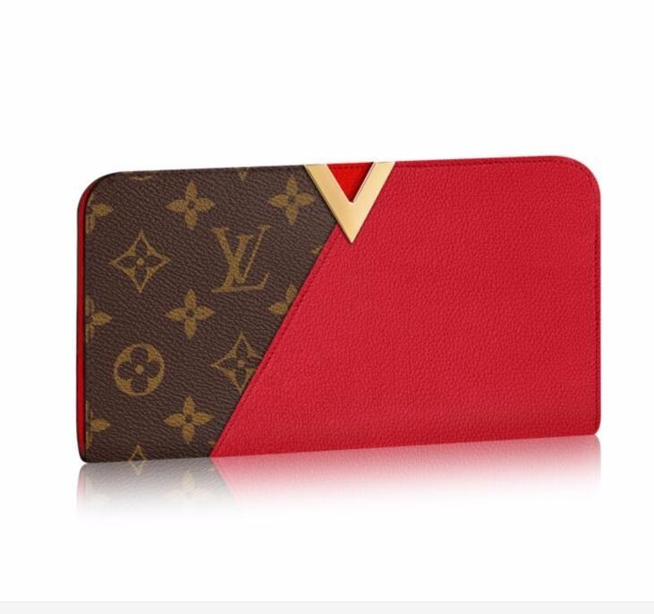 Louis Vuitton Monogram Canvas Kimono Wallet M56174 Cherry