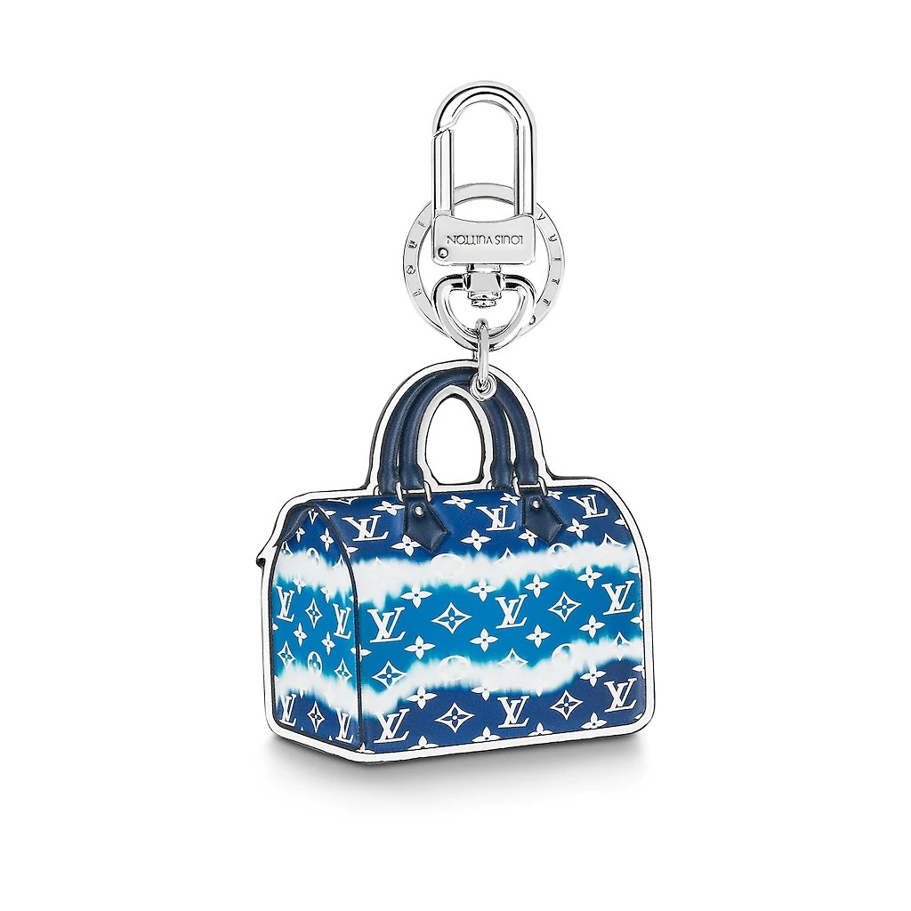 Louis Vuitton LV Escale Speedy Key Holder and Bag Charm M69292