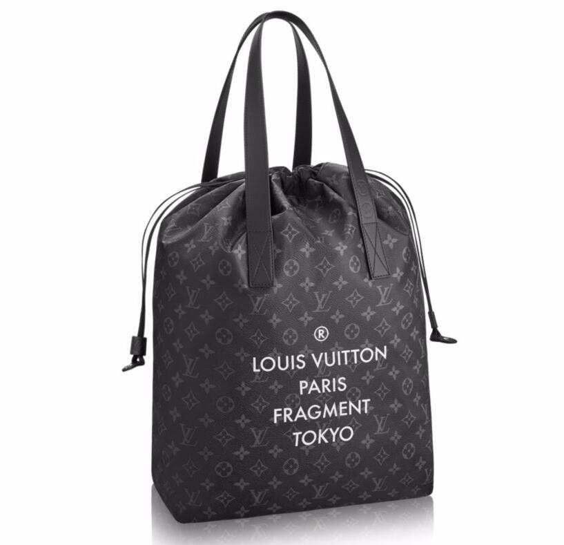 Louis Vuitton Monogram Eclipse Cabas Light M43417