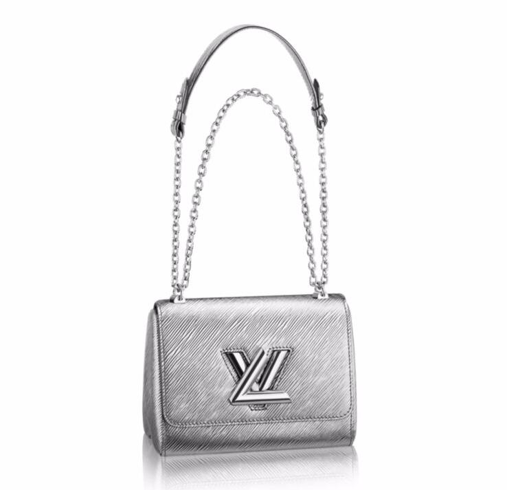 Louis Vuitton Epi Leather Twist PM M50323 Argent