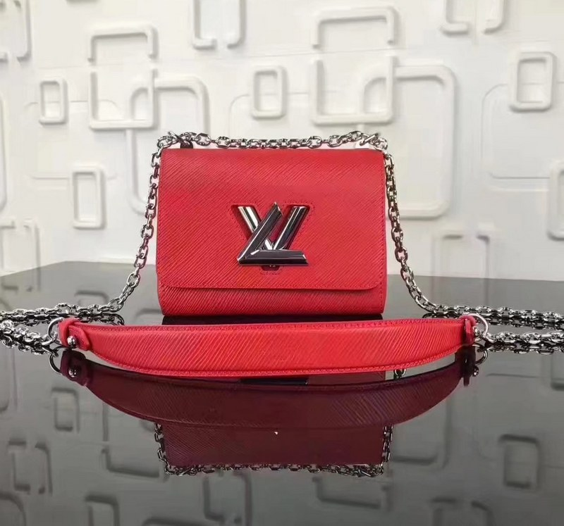 Louis Vuitton Epi Leather Twist PM M50332 Red