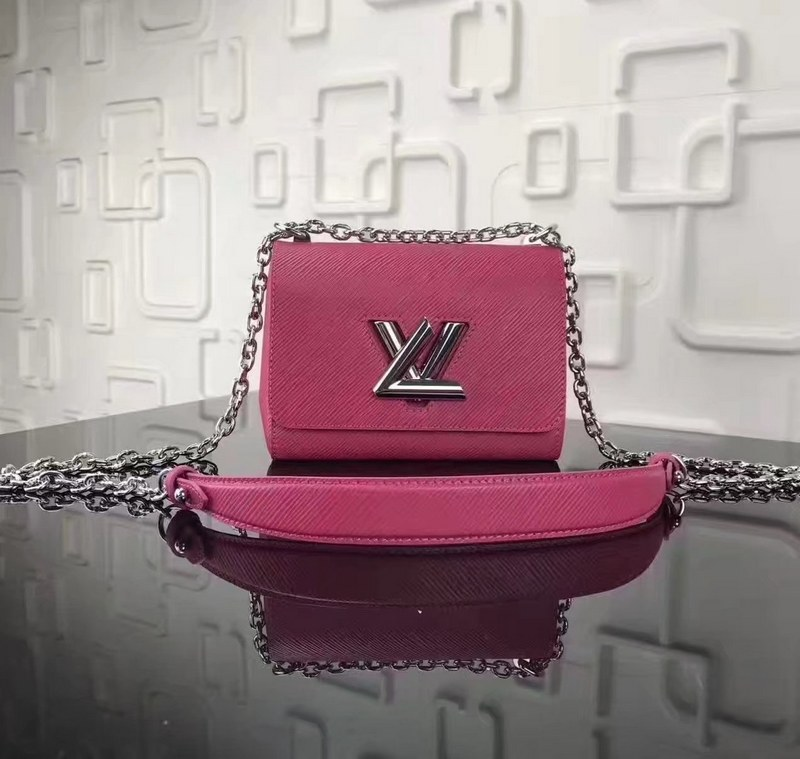 Louis Vuitton Epi Leather Twist PM M50332 Plum