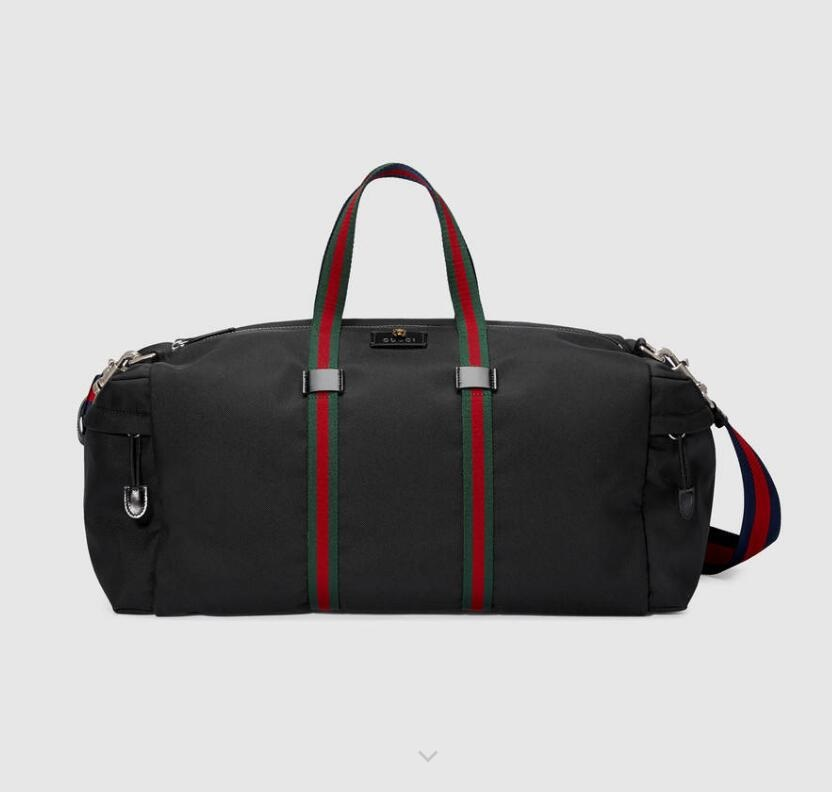 Gucci Technical Canvas Duffle 450983 Black