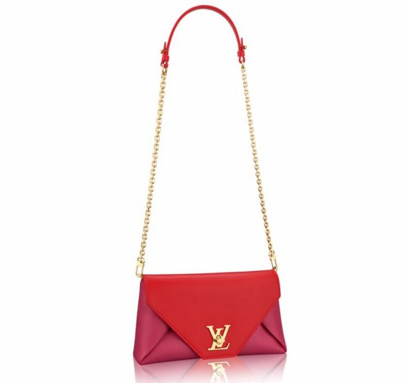 Louis Vuitton Calf Leather Love Note M54501 Fuchsia
