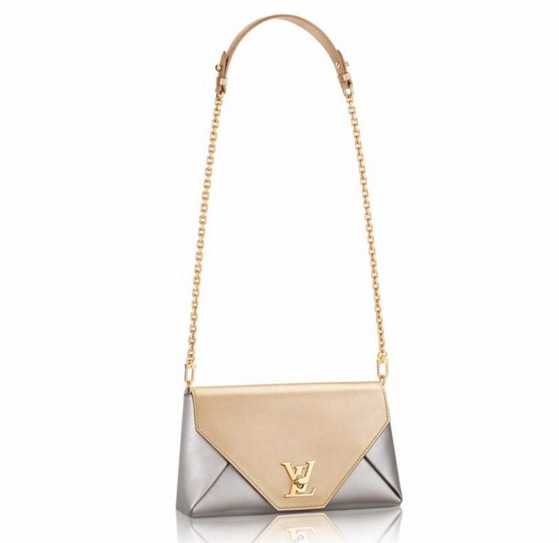 Louis Vuitton Calf Leather Love Note M54504 Gold