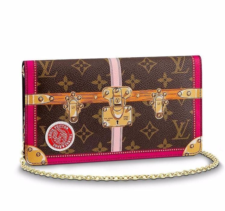 Louis Vuitton Monogram Canvas Pochette Weekend M62456