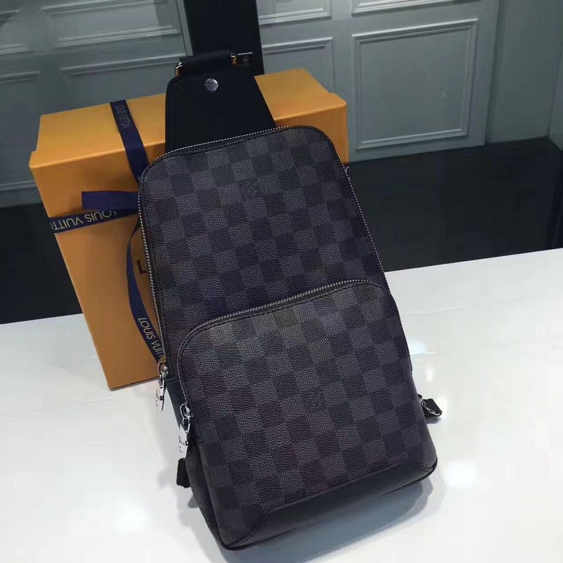 8cd3ab2d8 Louis Vuitton Damier Graphite Avenue Sling Bag N41719  N41719  -  99 ...