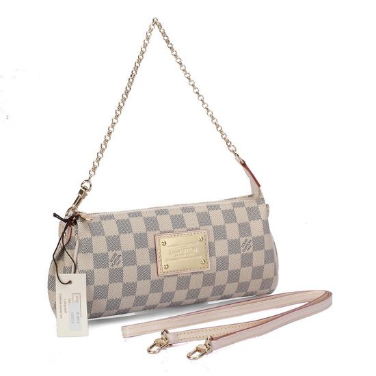 Louis Vuitton Damier Azur Canvas Eva Clutch N55214
