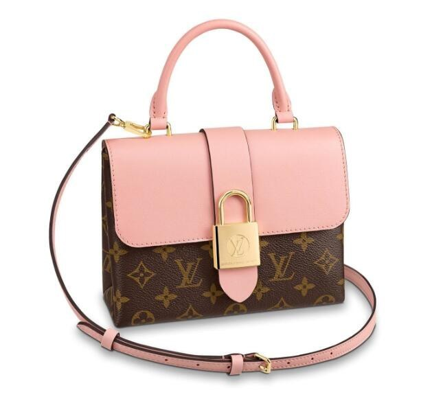 Louis Vuitton Monogram Canvas Locky BB M44080 Rose Poudre