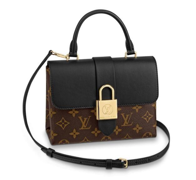Louis Vuitton Monogram Canvas Locky BB M44141 Noir