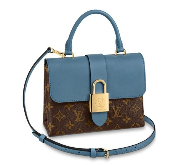 Louis Vuitton Monogram Canvas Locky BB M44321 Bleu Jean
