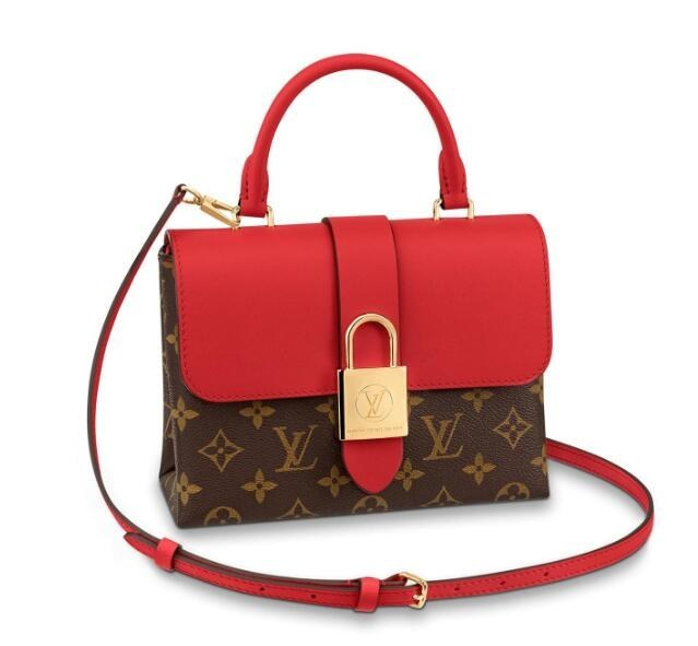 Louis Vuitton Monogram Canvas Locky BB M44322 Coquelicot