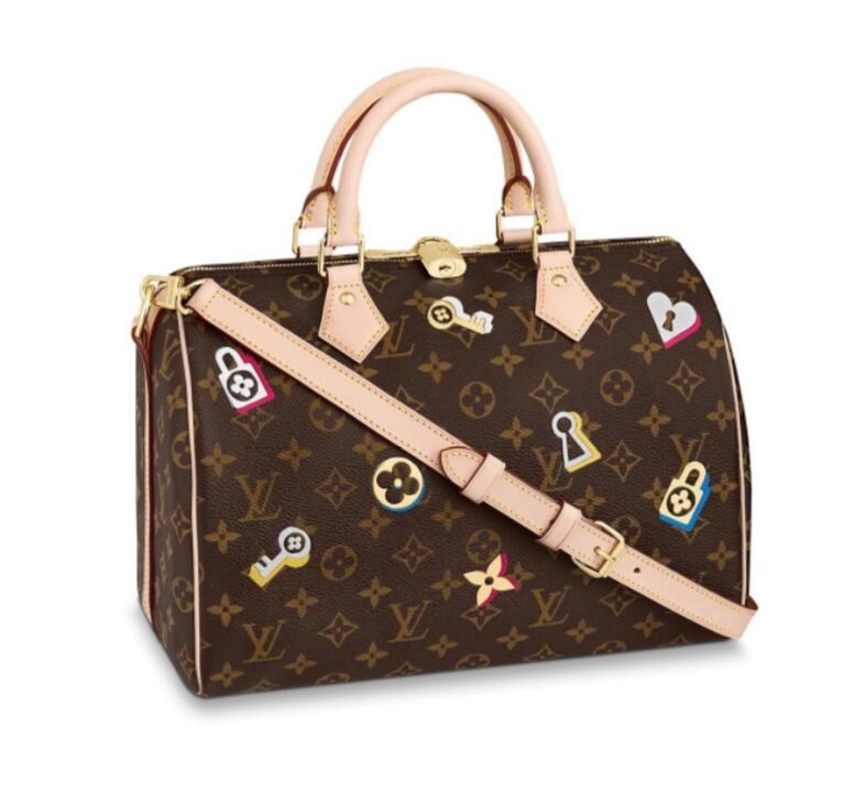 Louis Vuitton Monogram Canvas Speedy 30 Bandouliere M44365