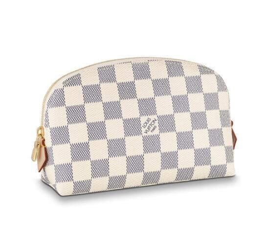 Louis Vuitton Damier Azur Canvas Cosmetic Pouch N60024