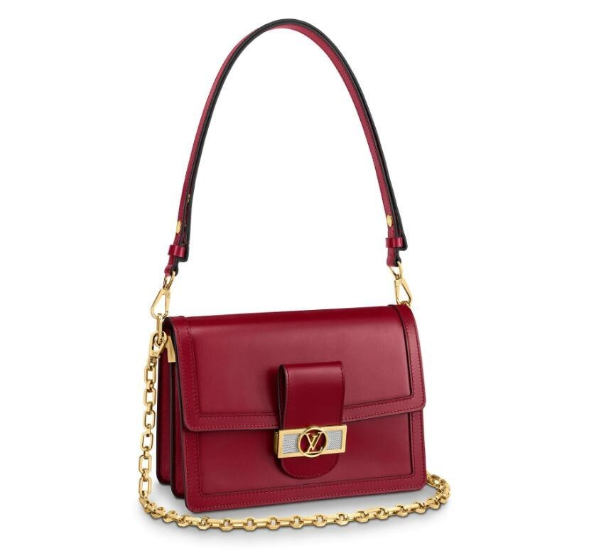 Louis Vuitton Dauphine MM M55735 Cherry Berry