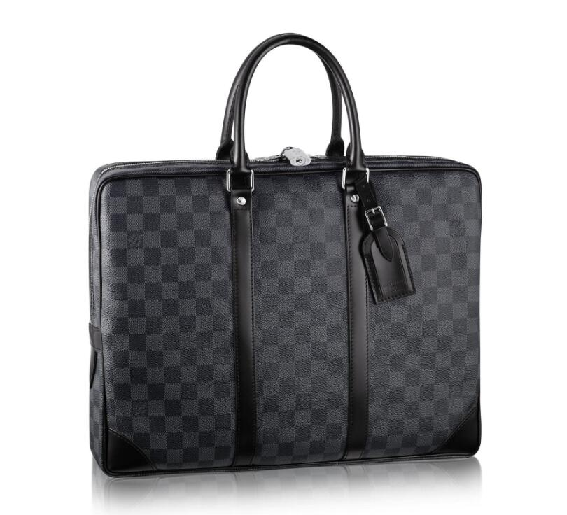 Louis Vuitton Damier Graphite Canvas Porte-Documents Voyage N41125