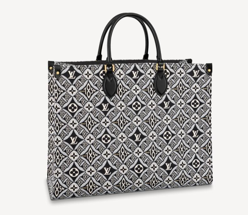 Louis Vuitton Since 1854 Onthego GM M57207 Gray