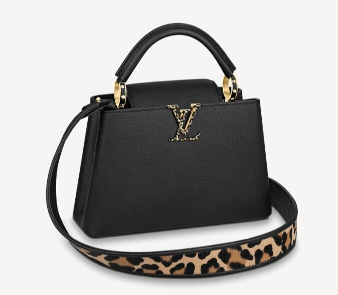 Louis Vuitton Capucines BB M57215 Black