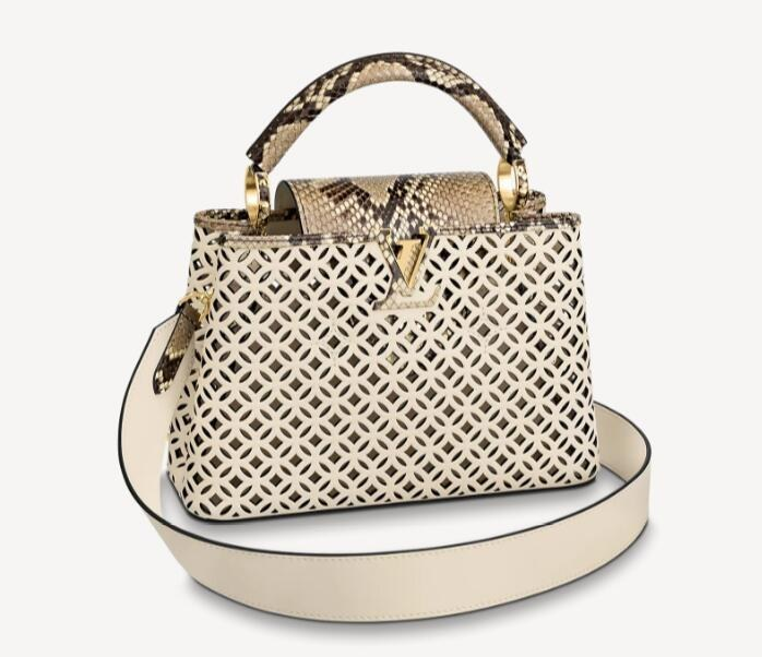 Louis Vuitton Capucines BB N98426 Cream Beige