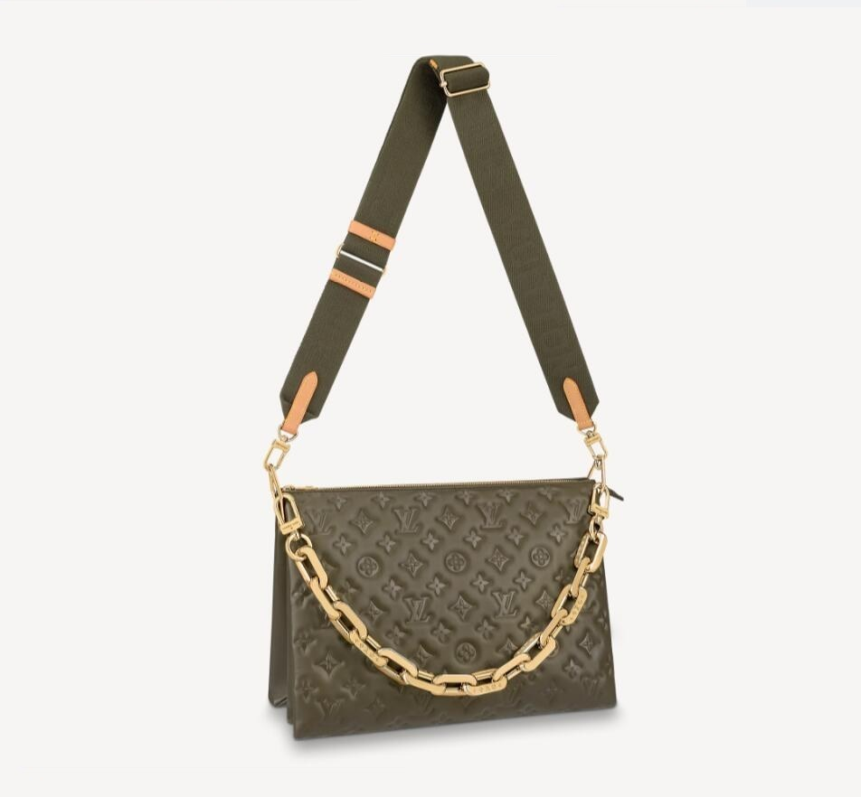 Louis Vuitton Coussin MM M57782 Khaki Green