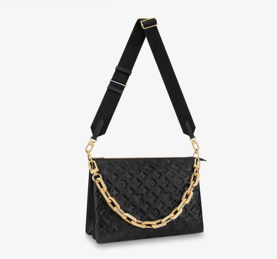 Louis Vuitton Coussin MM M57783 Black