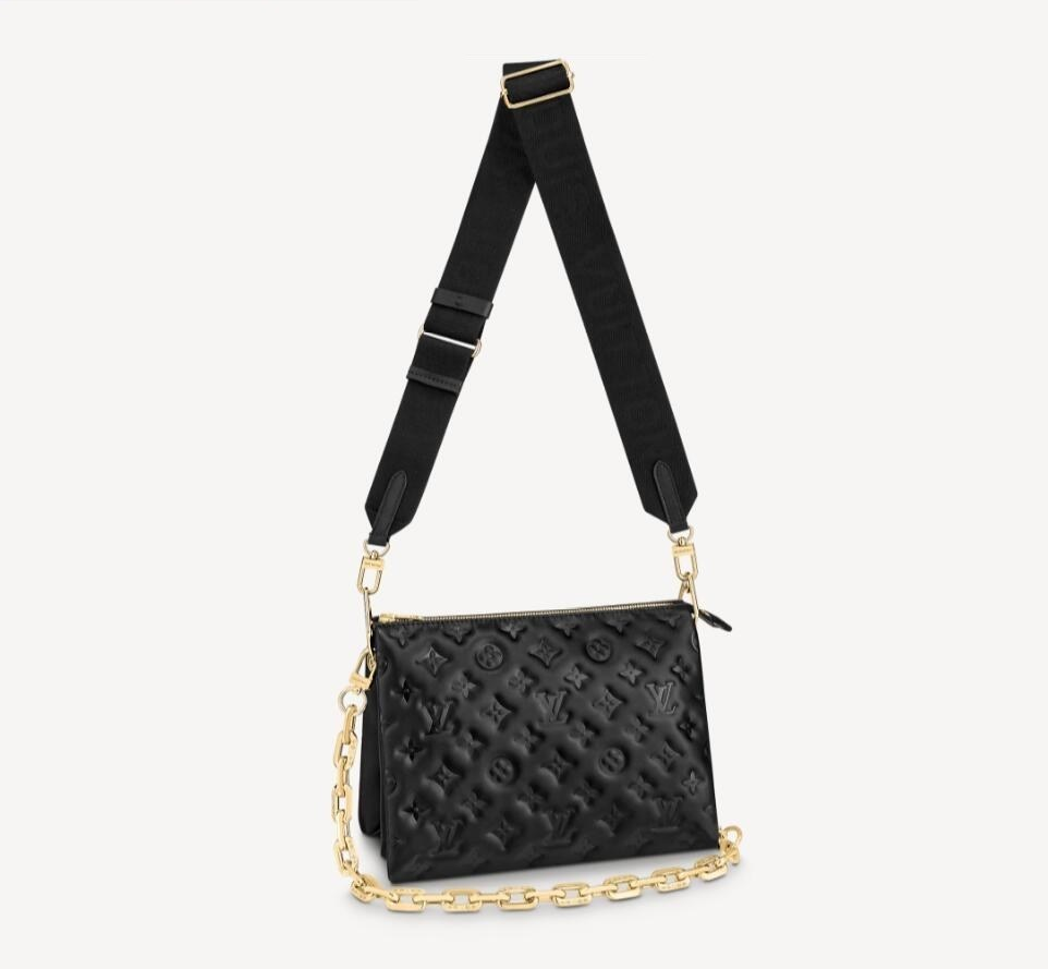 Louis Vuitton Coussin PM M57790 Black