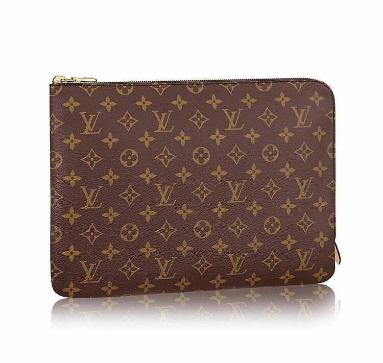 Louis Vuitton Monogram Canvas Etui Voyage GM M43442 Brown