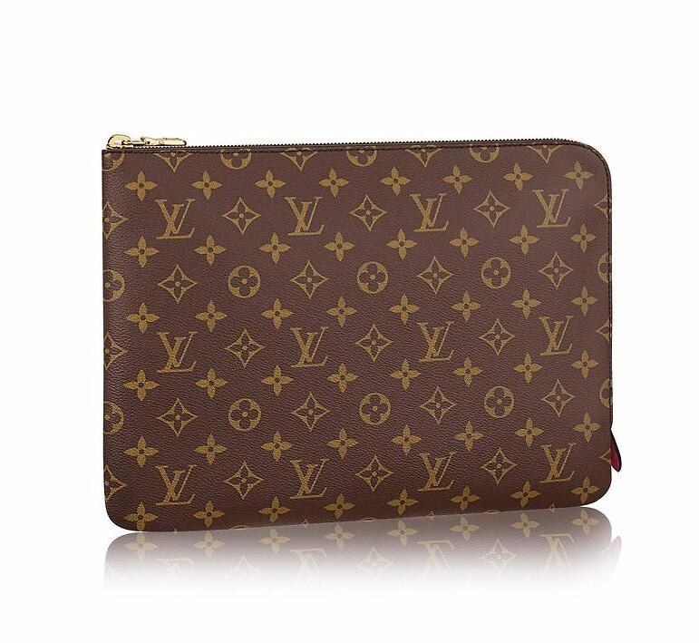 Louis Vuitton Monogram Canvas Etui Voyage GM M43443 Fuchsia