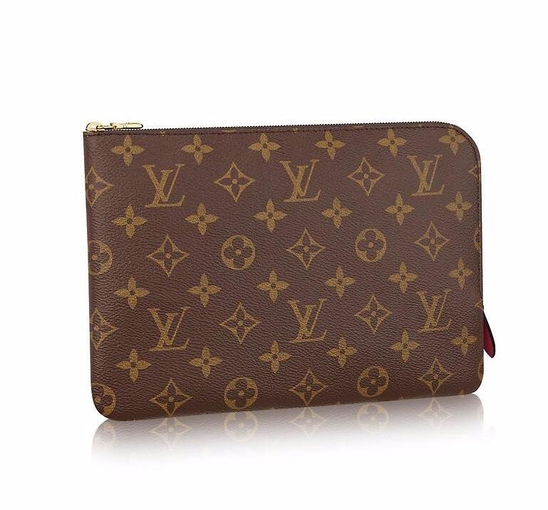 Louis Vuitton Monogram Canvas Etui Voyage PM M44148 Fuchsia