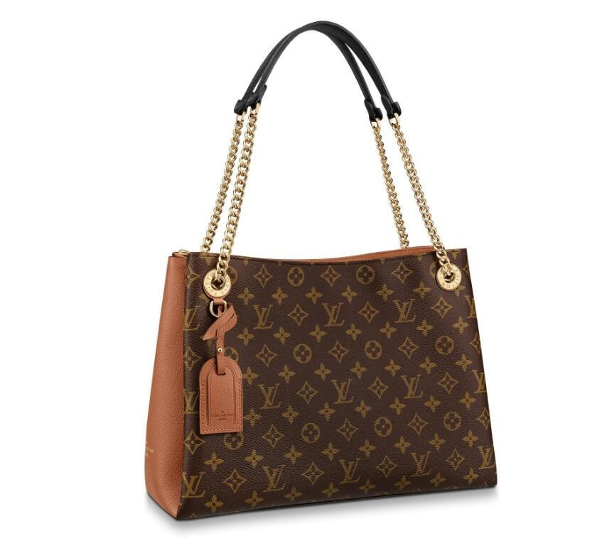 Louis Vuitton Monogram Canvas Surene MM M44540 Caramel