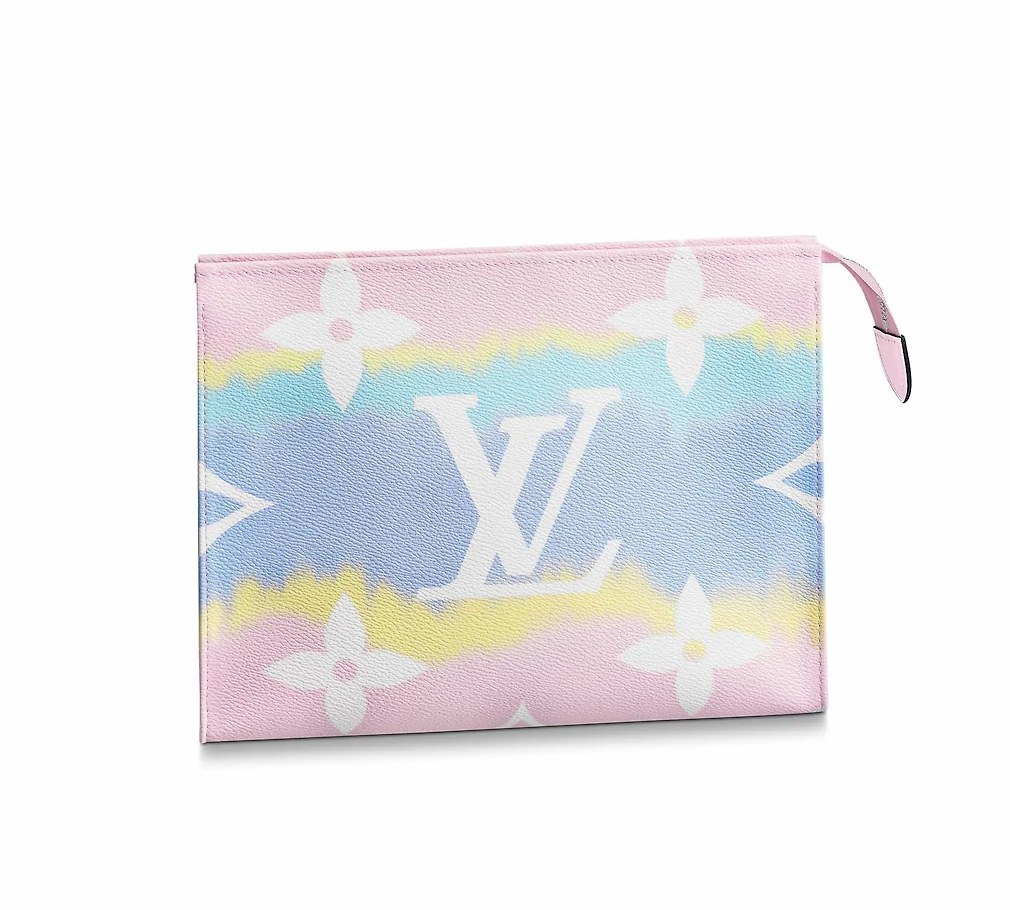 Louis Vuitton LV Escale Poche Toilette 26 M69137 Pastel