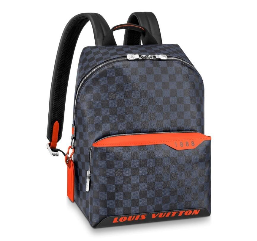 Louis Vuitton Damier Cobalt Race Discovery Backpack PM N40157