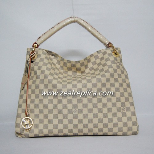 Louis Vuitton Damier Azur Artsy MM N40249