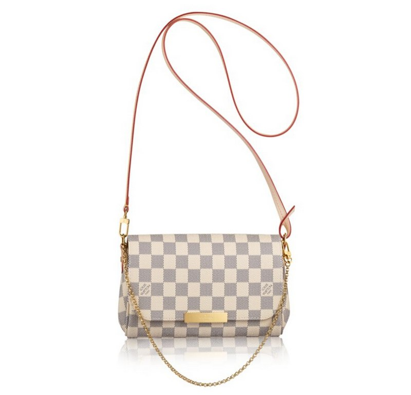 Louis Vuitton Damier Azur Canvas Favorite PM N41277