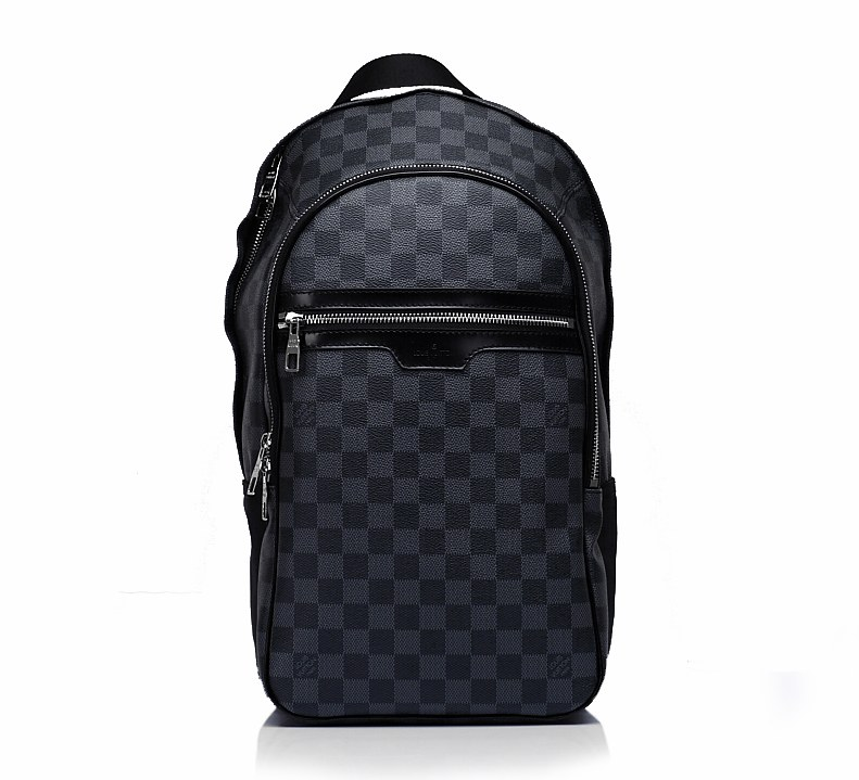 Louis Vuitton Damier Graphite Canvas Michael Bag N58024
