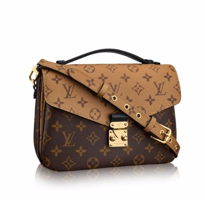 Louis Vuitton Monogram Canvas Pochette Metis M41465