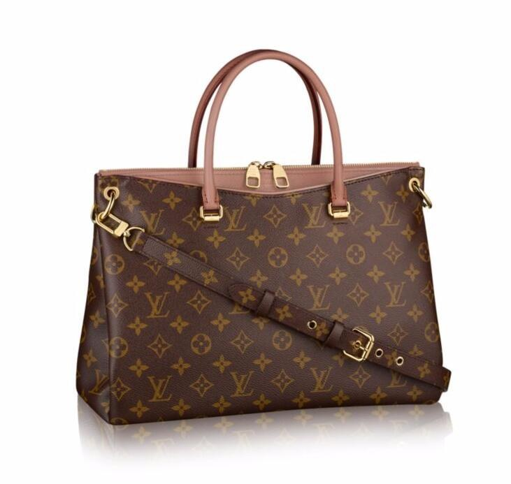 Louis Vuitton Monogram Canvas Pallas M41598 Bois de Rose