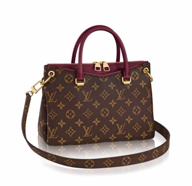 Louis Vuitton Monogram Canvas Pallas BB M41825 Raisin