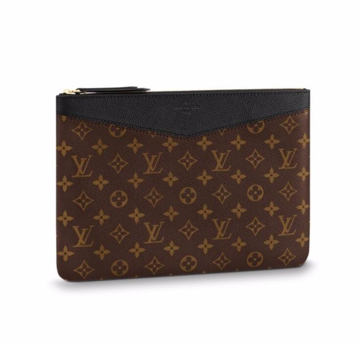 Louis Vuitton Monogram Canvas Daily Pouch M62048 Noir